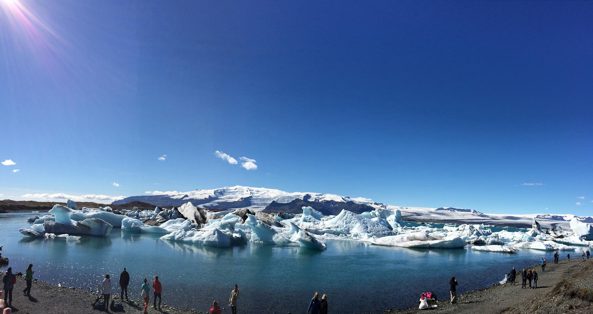 Island. Eis
